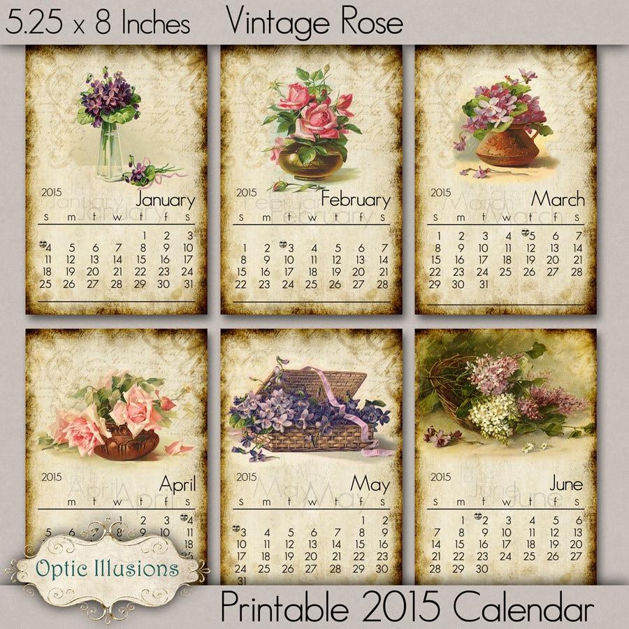 Calendar Vintage 2015 : Vintage calendar search results