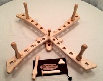Windmill style - Maple Yarn swift - Skein Winder