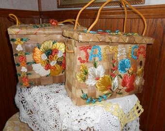 Set of Vintage Jamaica Bags