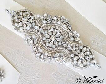Bridal sash, Wedding sash, Bridal belt,Wedding Sash Belt, Crystal Sash
