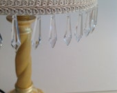 Custom Gold Lamp and Lampshade with Crystals Reserved for Buyer