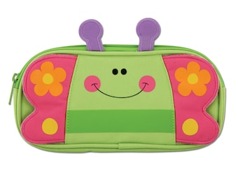Personalized Stephen Joseph Butterfly Pencil Pouch