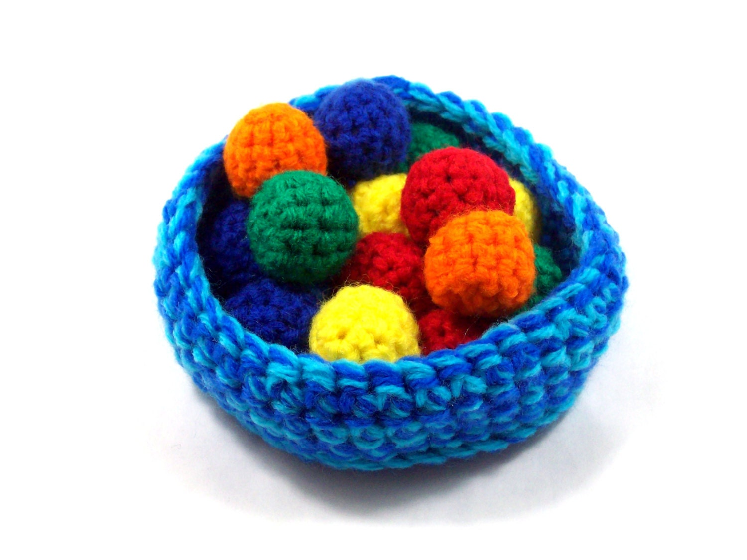 Pattern for Amigurumi Ball Pit by quietnova on Etsy