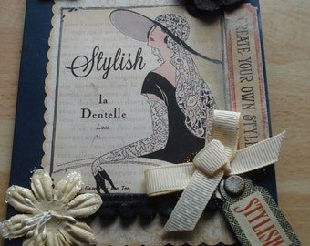 SALE Stylish card