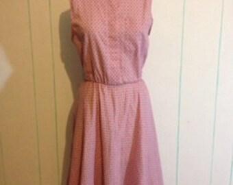 Vintage Floral Dress Size 10-12