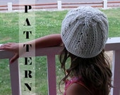 Crochet Pattern Classic Cable Cloche or Slouchy Hat Toddler to Adult sizes INSTANT DOWNLOAD #334