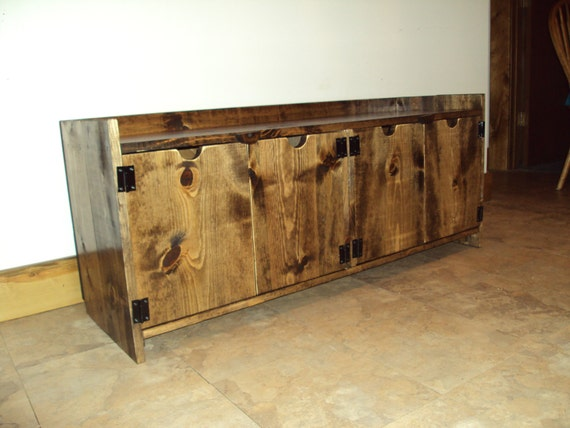 Reclaimed Wood Look Storage Bench Rustic Entry Bench Mud Room