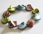 Mop beads Stretch bracelet