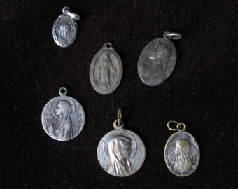 Lot of 6 religious medals II
