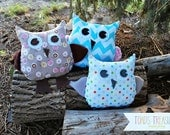 Easy Owl Pattern Commercial Use Permission to Sew and Sell