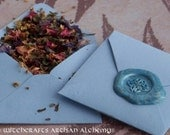 HEALING ALCHEMY Spirit of Magic™ Herb Loaded Envelope Spell by Witchcrafts Artisan Alchemy®