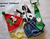1st Birthday Smash Cake Outfit On the Farm
