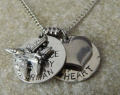 The Air Force has my Airman, But I have his Heart Necklace