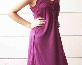 Purple Easy Breezy Sleeveless Dress