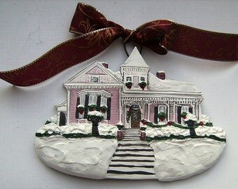 Custom Listing for- LuvinPugs -- one Custom House Ornament a delightful replica of your home