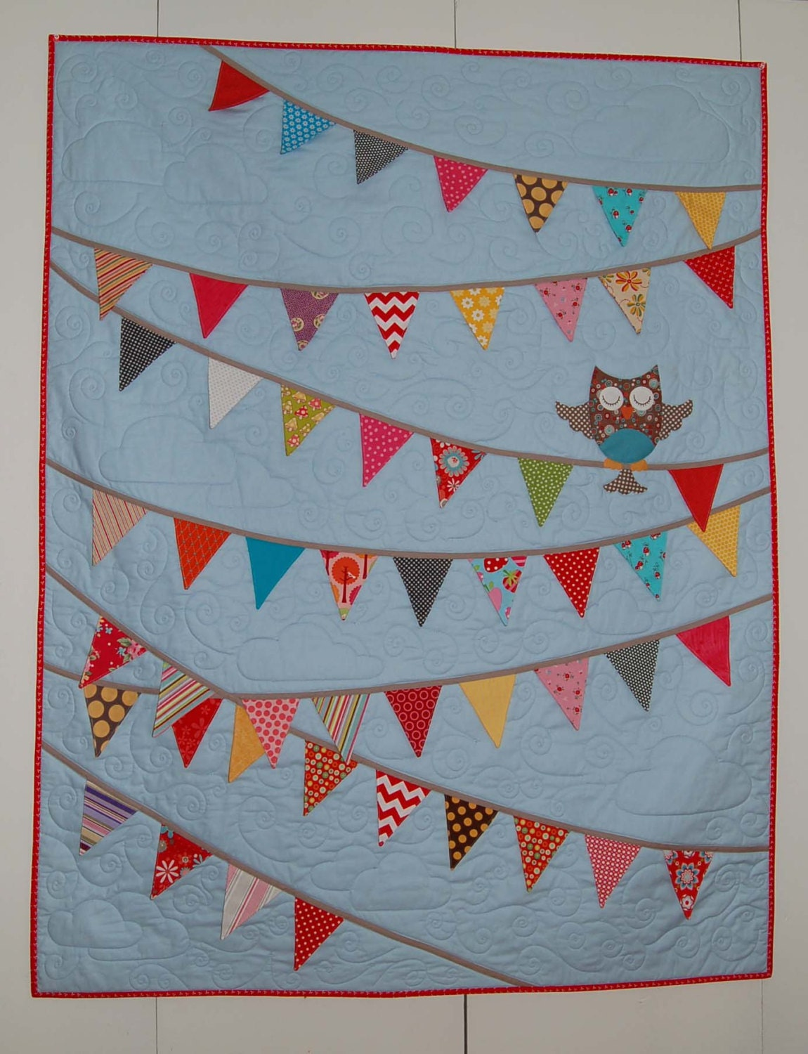 O Is For Owl Quilt Kit