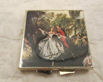 Vintage Compact with Double Mirror New Old Stock