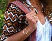 Gold filled Circle Bracelet