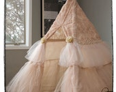 Kids Ruffle Teepee Play Tent - PRE-ORDER for summer delivery