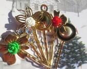 Christmas Bobby Pins Set (5)