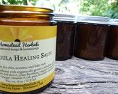 Calendula Healing Salve (organic, 4 oz size)