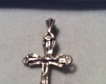 Cross Pendant Sterling Silver