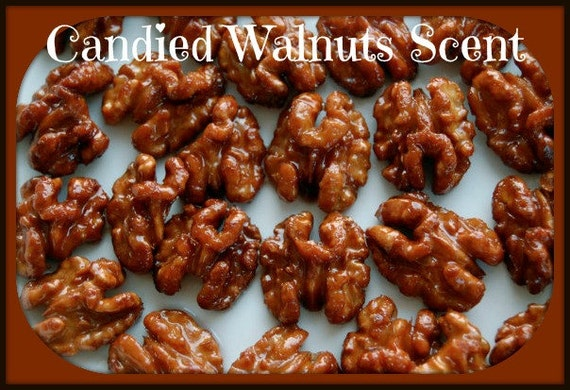 CANDIED WALNUTS Scented Soy Wax Melts - Soy Wax Tarts - Wickless Candle - Highly Scented - Hand Made & Poured In USA
