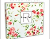 VICTORIAN ROSE Album | Ruby Love Modern Baby Memory Book