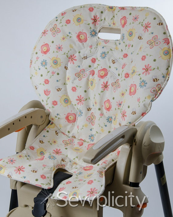 Fisher Price EASY FOLD Healthy Care High Chair Cover Apple