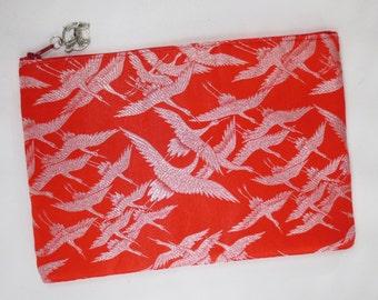 iPad mini Case made from vintage wedding kimono - One Thousand Cranes