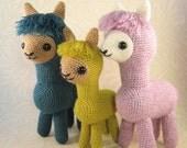 Alpaca Family Amigurumi Pattern PDF