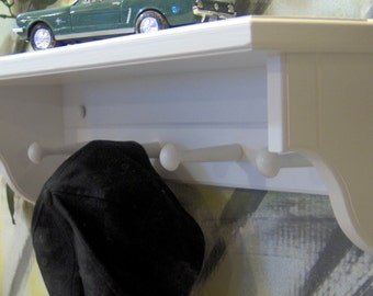 """WT901 24"""" Shelf 7"""" Deep With or Without Pegs and Plate Grooves JLJ Orig Design"""