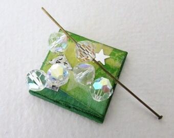 Vintage Swarovski Beads Crystal AB Aurora Borealis 7mm swa0572 (8)
