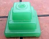 Green Clambroth Table Lamp Base
