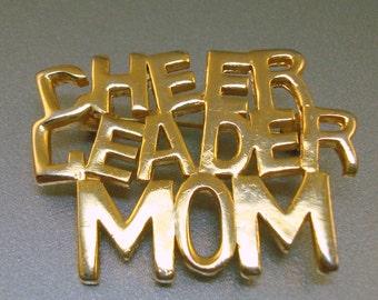 Cheer Leader Mom Pin