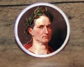 Roman Emperor JULIUS CAESAR Tie tack or Cuff links or Ring or Pendant or Brooch