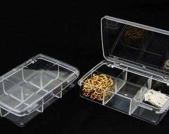 Set Of 2 Acrylic Storage/Organizers With Twelve Compartments  SALE