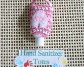 Hand Sanitizer Holder -- Ballet Shoes