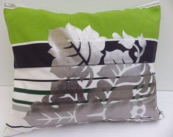 Hollywood Stripe Emerald Green Cushion