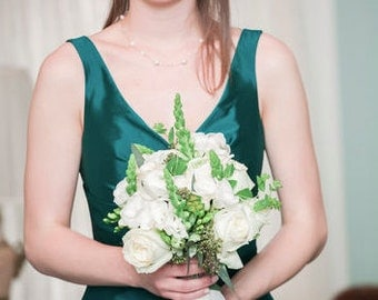 Freshwater Pearl Bridal Set - Necklace, Earrings & Bracelet
