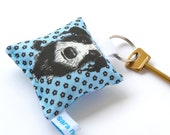 Pet Shaggy Dog Keyring keychain handmade