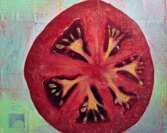 Original Painting - Tomato