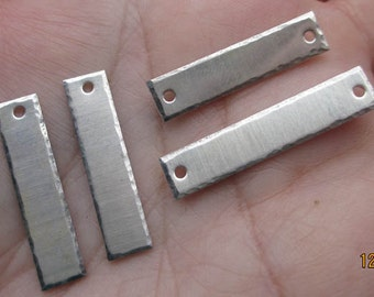 Sterling Silver Strips(1 or two strips)One and One Half Inch Length(18 or 20 gauge)