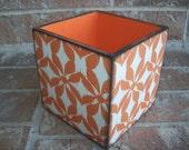 Upcycled Wooen Pencil Box