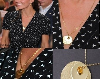 Kate Middleton Necklace , Kate Middleton Jewelry, Celebrity Inspired Jewelry, Kate Middleton Jewellery
