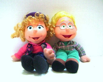 Choice of Doll, Vintage My Friend Puzzle Place Ben OR Jody from Fisher Price 1995, Lancit Media,
