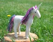 Felt Unicorn Pattern Waldorf Plush * Stuffed Unicorn Sewing Pattern * Includes Horse and Pegasus Sewing Pattern PDF Download