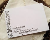 SALE Wedding Wish Cards Dreams and Love Set of 25 Last Set Left