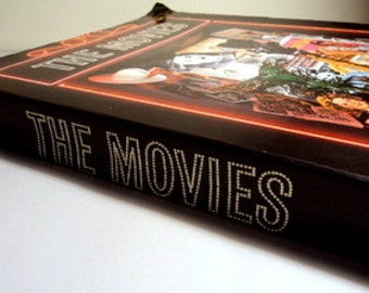 Vintage 1970's Hollywood Movie Book // The Movies Coffee Table Book