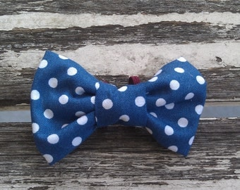Ralf slide-on-collar doggie/kitty bowtie
